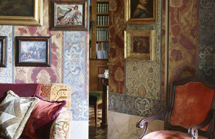 An Old Milan Apartment Now Revels in a Maximalist Décor  An Old Milan Apartment Now Revels in a Maximalist Décor An Old Milan Apartment Now Revels in a Maximalist D  cor 6 740x479  Front Page An Old Milan Apartment Now Revels in a Maximalist D C3 A9cor 6 740x479