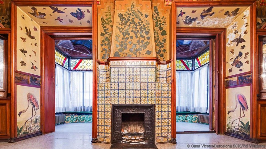 The Vivid and Colorful Restoration of Casa Vicens in Barcelona (3)  The Vivid and Colorful Restoration of Casa Vicens in Barcelona The Vivid and Colorful Restoration of Casa Vicens in Barcelona 3