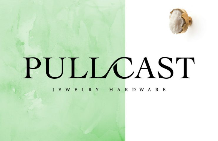 6 Stunning Cabinet Pulls and Knobs pullcast jewelry hardware 740x480  Front Page pullcast jewelry hardware 740x480