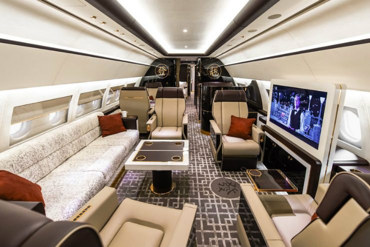 Tag: Aircraft Interiors. How About A Stunning PullCast Product On A Private  Plane?