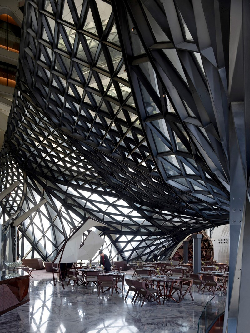 The Astonishing New Project of Zaha Hadid Architects in Macau Zaha Hadid Architects The Astonishing New Project of Zaha Hadid Architects in Macau Be Mesmerized by Zaha Hadid Architects Morpheus Hotel in Macau 6