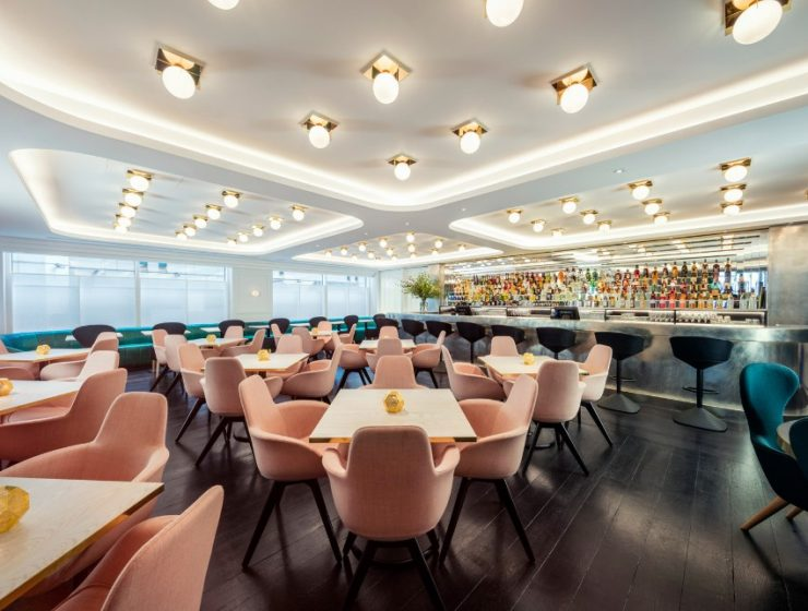 Get Surprised by This Concept Restaurant Design by Tom Dixon interior design Discover the Legacy of 6 Interior Design Giants of the 20th Century Luxury Restaurants Bronte Restaurant by Tom Dixon 5 740x560  Front Page Luxury Restaurants Bronte Restaurant by Tom Dixon 5 740x560