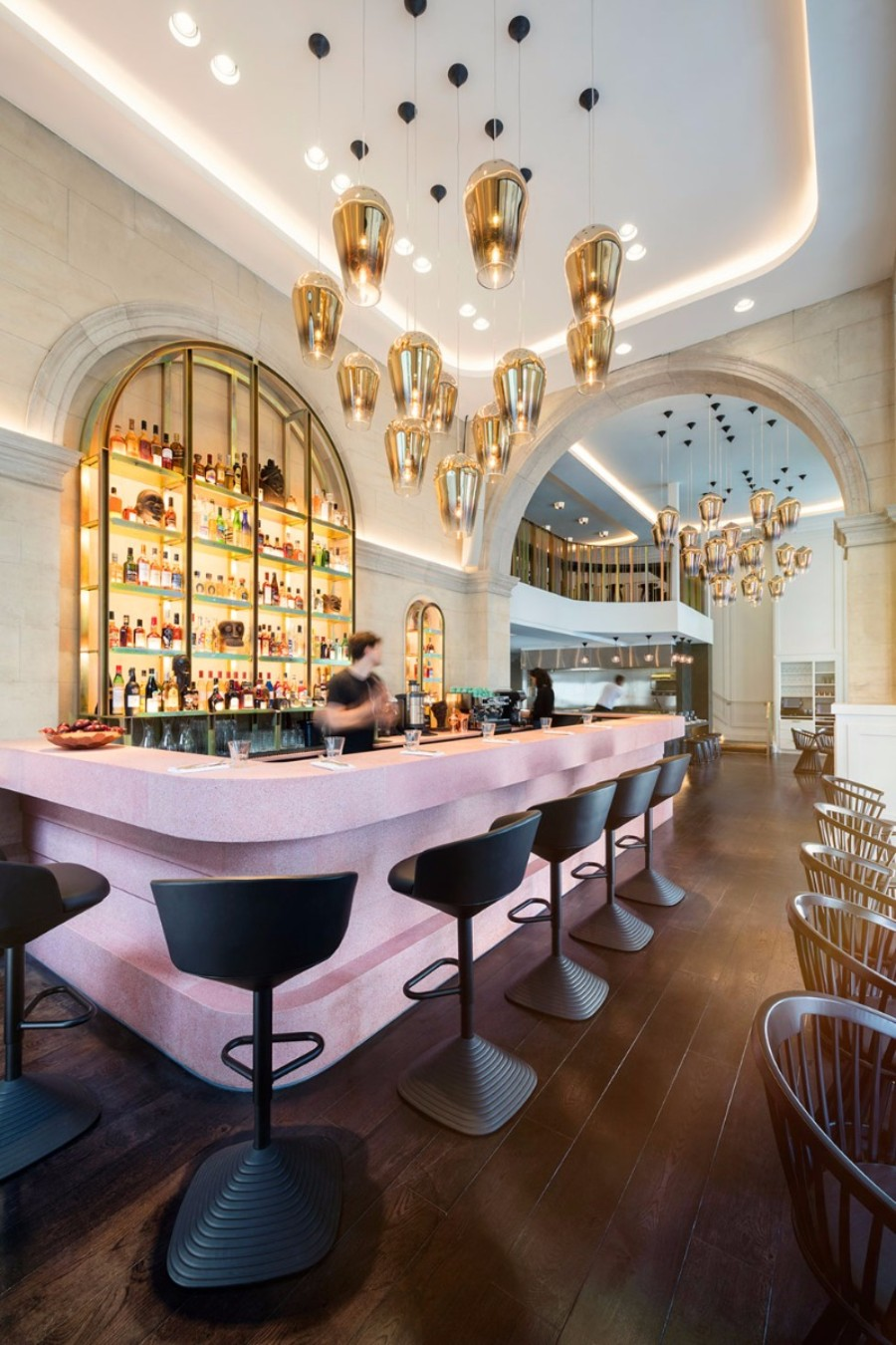 Get Surprised by This Concept Restaurant Design by Tom Dixon Tom Dixon Get Surprised by This Concept Restaurant Design by Tom Dixon Luxury Restaurants Bronte Restaurant by Tom Dixon 6