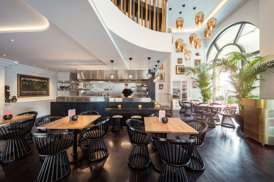 Get Surprised by This Concept Restaurant Design by Tom Dixon Tom Dixon Get Surprised by This Concept Restaurant Design by Tom Dixon Luxury Restaurants Bronte Restaurant by Tom Dixon 7