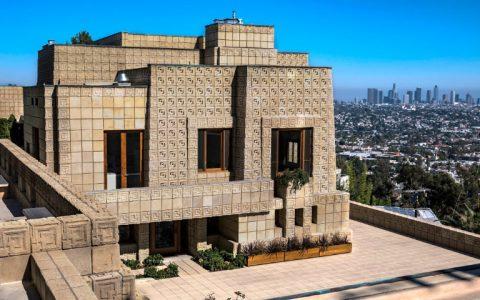 Be Inspired by This Luxury Home Created by Architect Frank Lloyd Wright frank lloyd wrigh Be Inspired by This Luxury Home Created by Architect Frank Lloyd Wright ennis house1924la los angeles fran 480x300