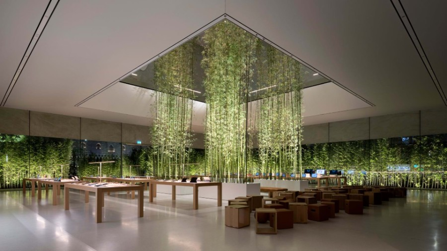This Apple Store in Macau Would Make Steve Jobs Proud! Apple Store This Apple Store in Macau Would Make Steve Jobs Proud! Inside Apple Store Atrium in Macau by Foster Partners 4
