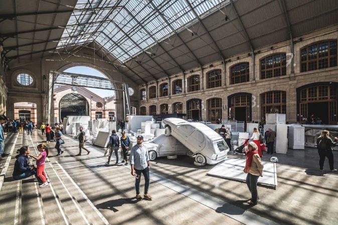 maison et objet 2019 Top 10 Fun Facts About Paris For Your Trip to Maison et Objet 2019 Urban Art VHILS Takes Over Paris 15 674x450