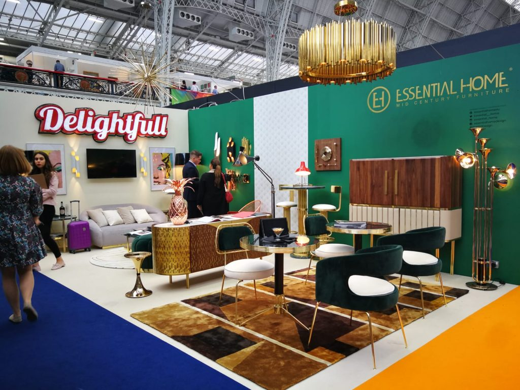 100% Design Has Started! Visit PullCast At This Event! london design festival 4 Events to Attend at London Design Festival 2019 100 Design A Glimpse on the First Day of the London Trade Show 4 1024x768