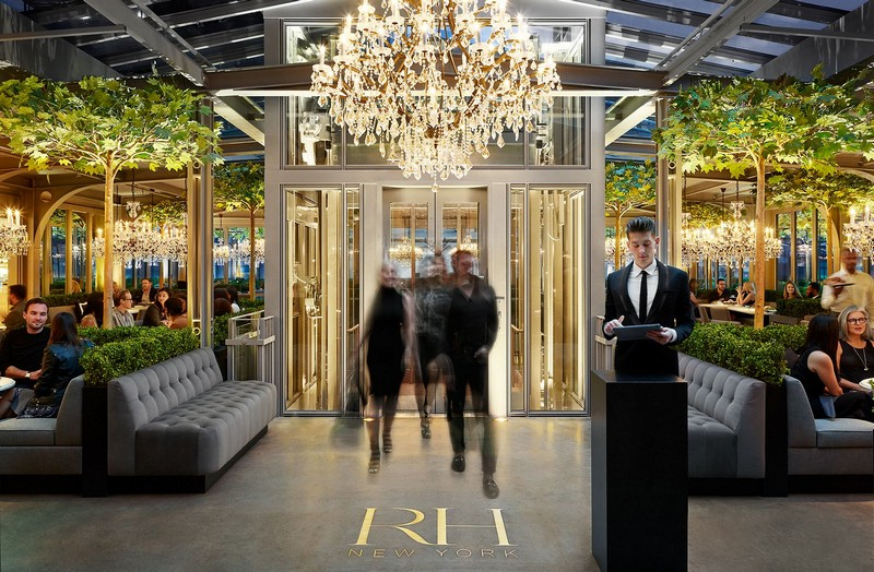 Get to Know The New Luxury Restauration Hardware Store