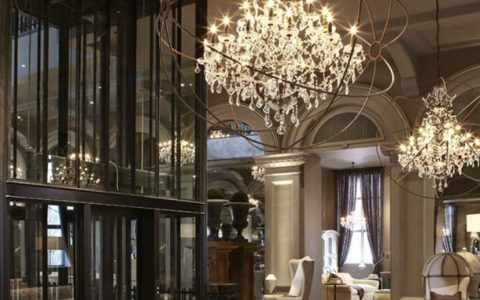 hardware store Get to Know The New Luxury Restoration Hardware Store 2ndflr Lobby 1131