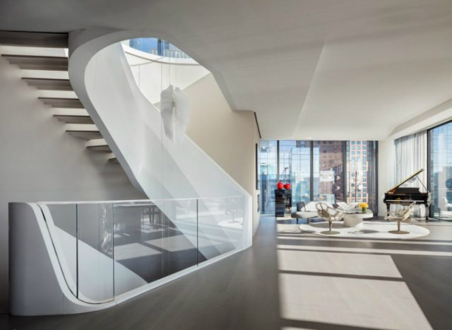 Discover The $50 Million New York Penthouse by Zaha Hadid Architects  Discover The $50 Million New York Penthouse by Zaha Hadid Architects Inside The 50 Million New York Penthouse by Zaha Hadid Architects 1 640x467