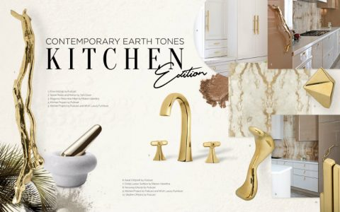earth tones Can You Handle This Trend? – Contemporary Earth Tones Kitchen earthtones moodboard 480x300