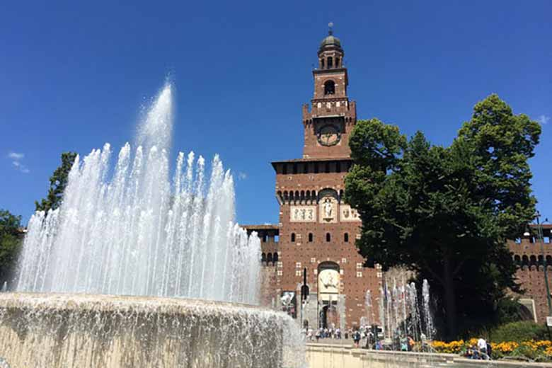 Discover Milan and The Work & History of Leonardo Da Vinci leonardo da vinci Discover Milan and The Work & History of Leonardo Da Vinci Sforza Castle 1