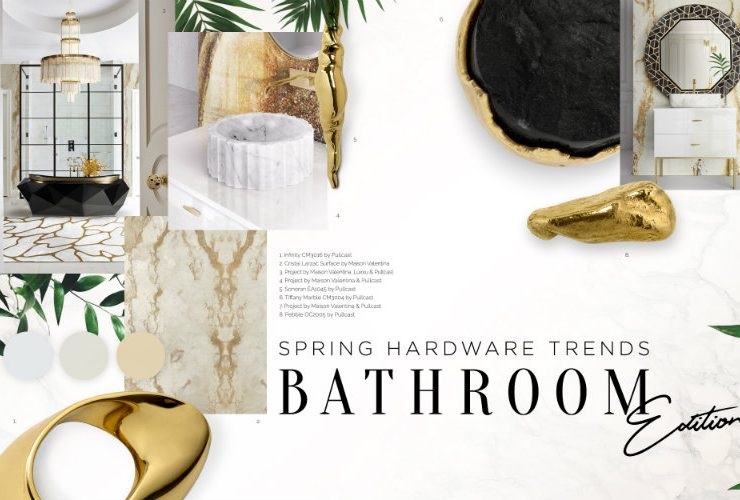 Can You Handle This Trend? - Spring Bathroom Trends bathroom trends Can You Handle This Trend? – Spring Bathroom Trends marblebrass 740x500