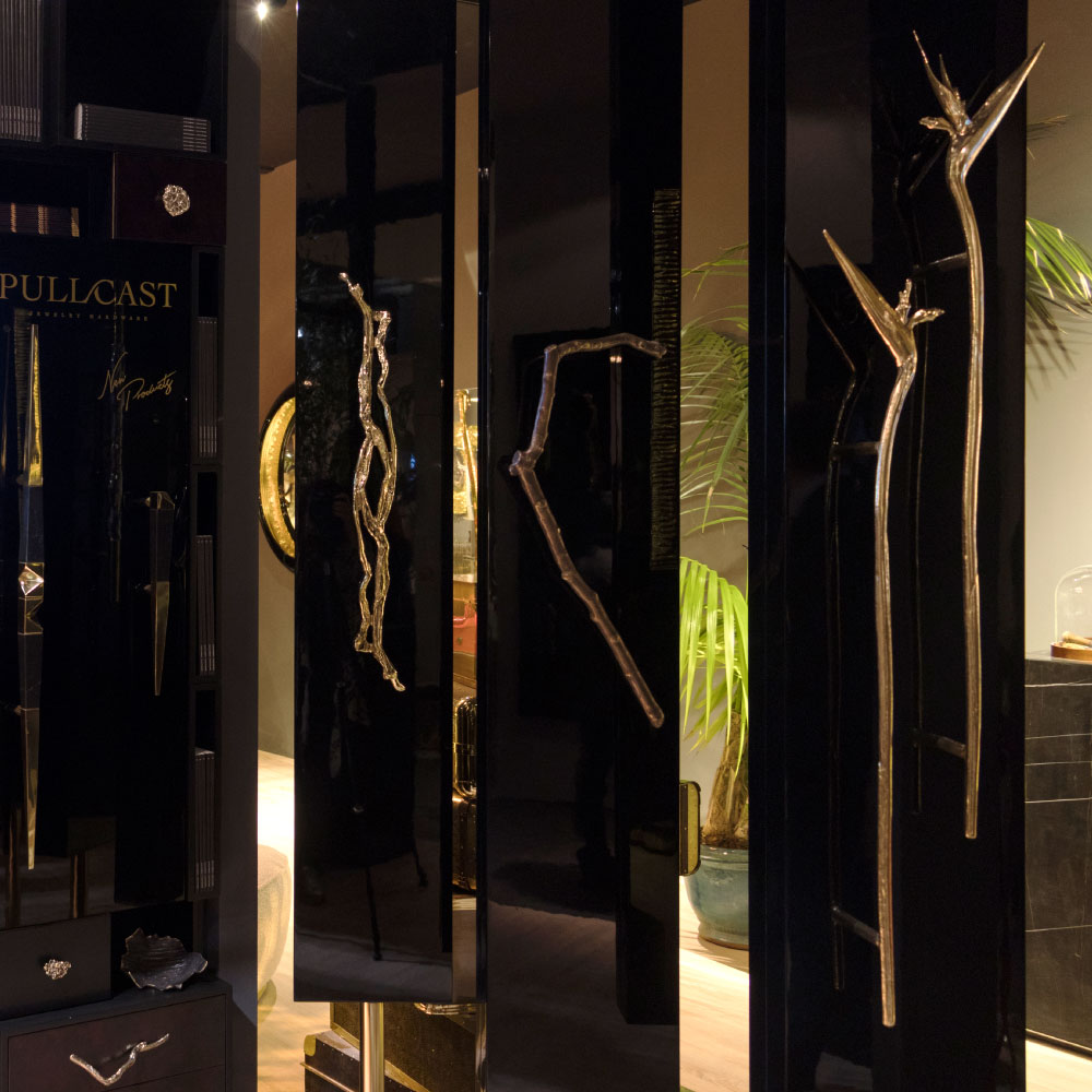 Best-Hardware-Stands-Present-at-Salone-del-Mobile-2019-6 door pull The Flower Inspiration Behind the Dazzling Strelitzia Door Pull Best Hardware Stands Present at Salone del Mobile 2019 6