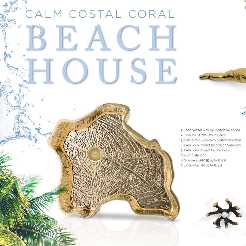 beach house Calm Costal Coral – Beach House 1 2