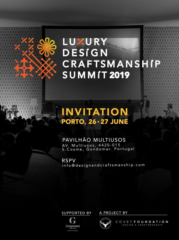 Presenting the 2nd Edition of The Luxury Design & Craftsmanship Summit luxury design Presenting the 2nd Edition of The Luxury Design & Craftsmanship Summit Presenting the 2nd Edition of The Luxury Design Craftsmanship Summit