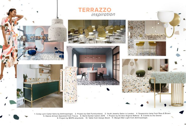 Can You Handle This Trend? - Terrazo terrazo Can You Handle This Trend? – Terrazo moodboard trends 2020 terrazzo 740x500  Front Page moodboard trends 2020 terrazzo 740x500