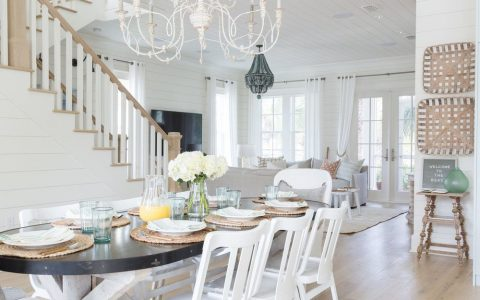 beach houses Dream Beach Houses To Drive Your Decor Inspiration Beach House Dining Rooms Youll Want ASAP 1 480x300
