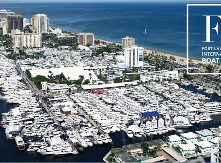 Fort Lauderdale International Boat Show fort lauderdal Event to Follow: Fort Lauderdale International Boat Show 2019 Fort Lauderdale International Boat Show 740x545