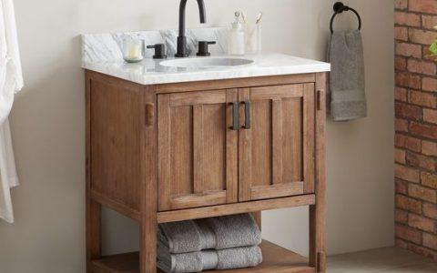 How to Pick the Perfect Small Bathroom Vanity [object object] How to Pick the Perfect Small Bathroom Vanity How to Pick the Perfect Small Bathroom Vanity 1 480x300