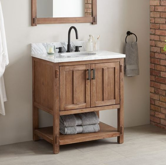 How to Pick the Perfect Small Bathroom Vanity [object object] How to Pick the Perfect Small Bathroom Vanity How to Pick the Perfect Small Bathroom Vanity 1 564x560