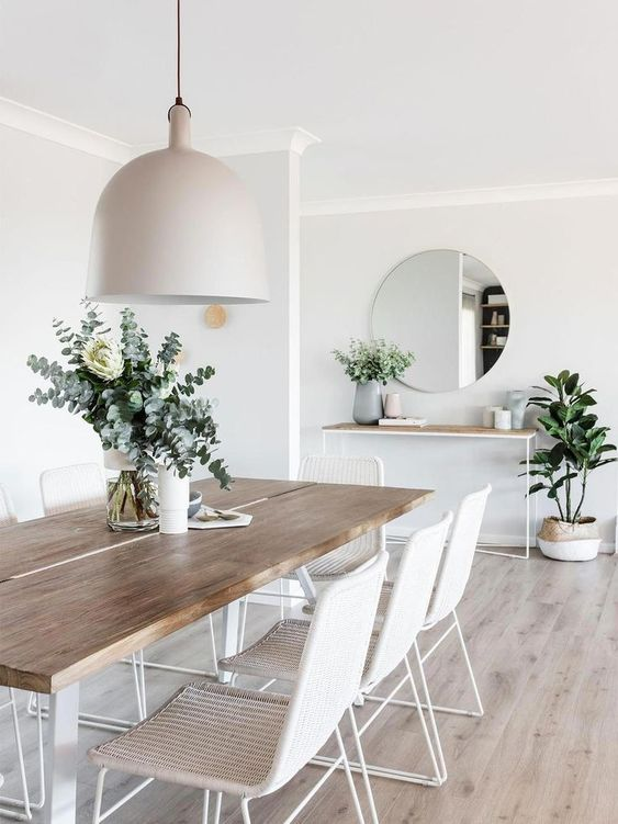 The Classiest Minimalist Dining Room Trends