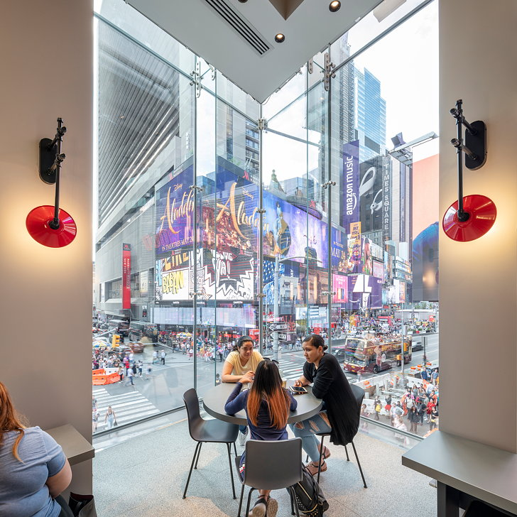 McDonald's Times Square's Store's Innovative Design