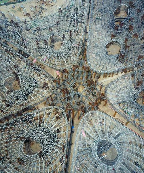 Zaha Hadid Architects' Beijing Airport Project Unveiled zaha hadid architects Zaha Hadid Architects' Beijing Airport Project Unveiled zaha hadid architects beijing new airport terminal construction china designboom 600