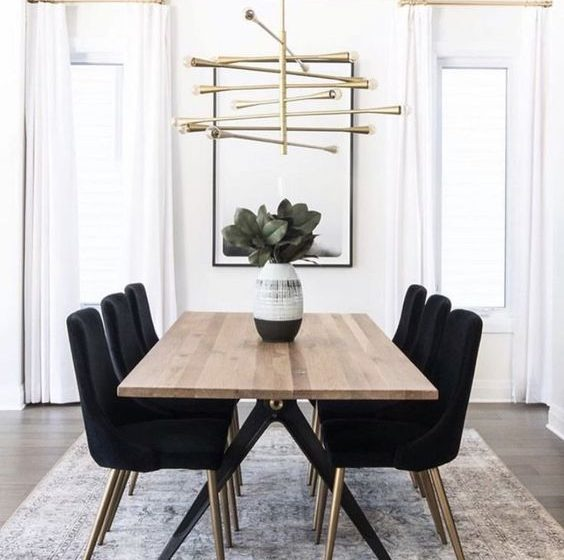 How To Choose The Perfect Dining Table Design dining table design How To Choose The Perfect Dining Table Design d7e2ca84569dfa52eaa28ada4cf6a5e3 564x560
