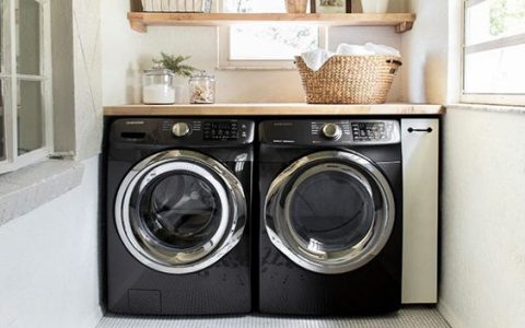Laundry Room Designs That Don't Disappoint laundry room design Laundry Room Designs That Don't Disappoint f74c94a7caac4e1dacffbd082593cbb6 480x300
