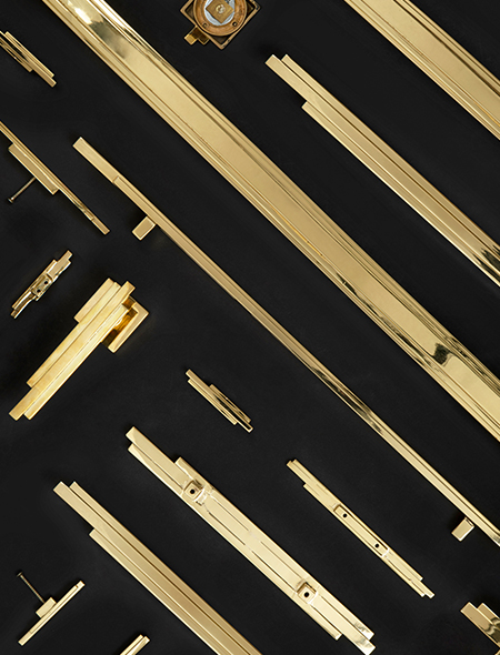 Skyline Door Pulls, Cabinet Pulls and Drawer Handles from Cosmopolitan Collection by Pullcast